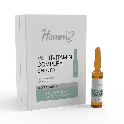 HOMM LİFE MULTİVİTAMİN COMPLEX SERUM 12X5 ML